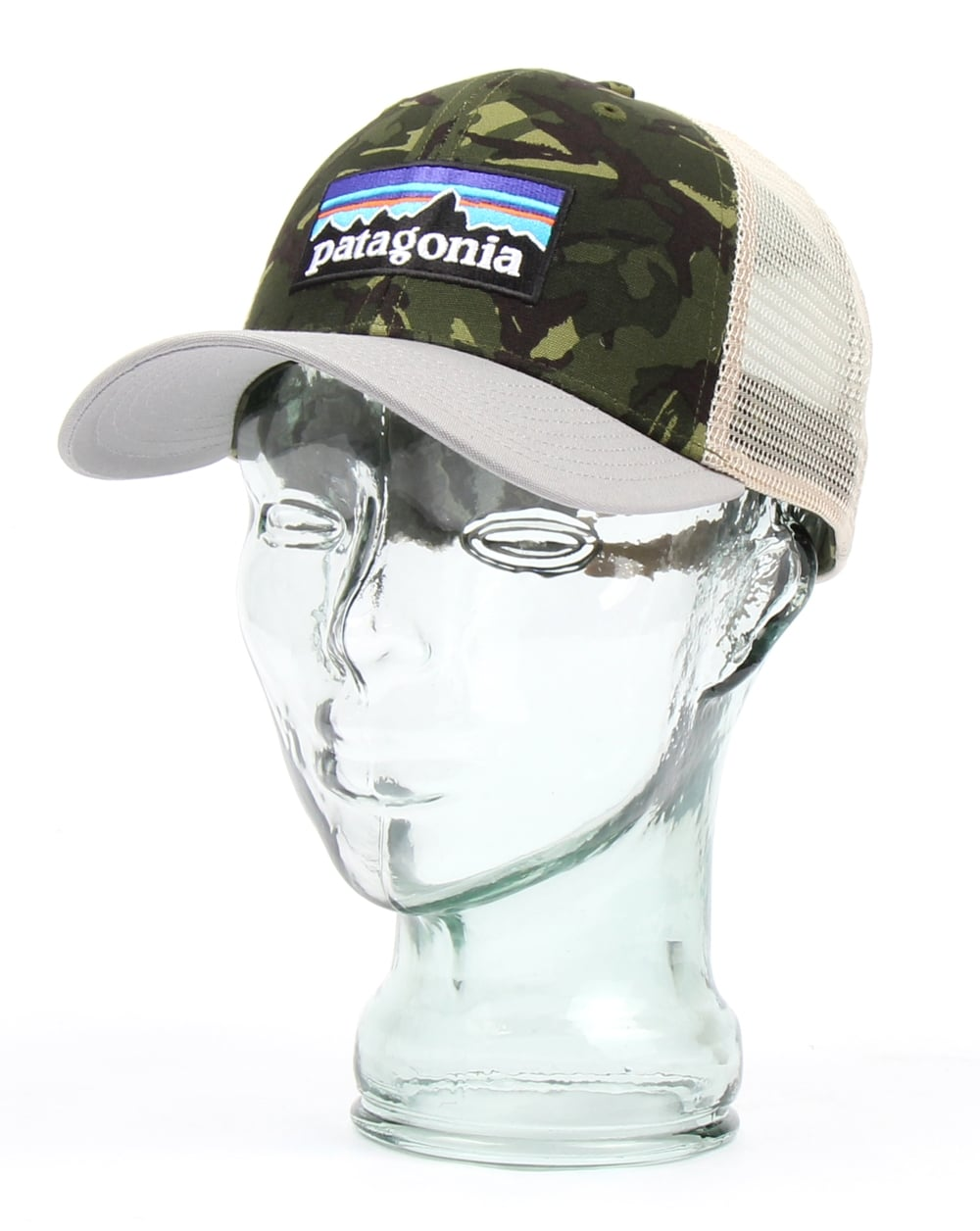 Patagonia P 6 Trucker Cap Camo Grey Hats And Caps From