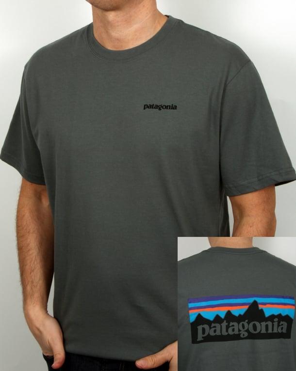 Patagonia P6 Logo T-shirt Nouveau Green