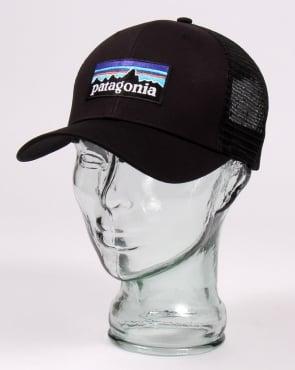 Patagonia P6 Trucker Cap Black