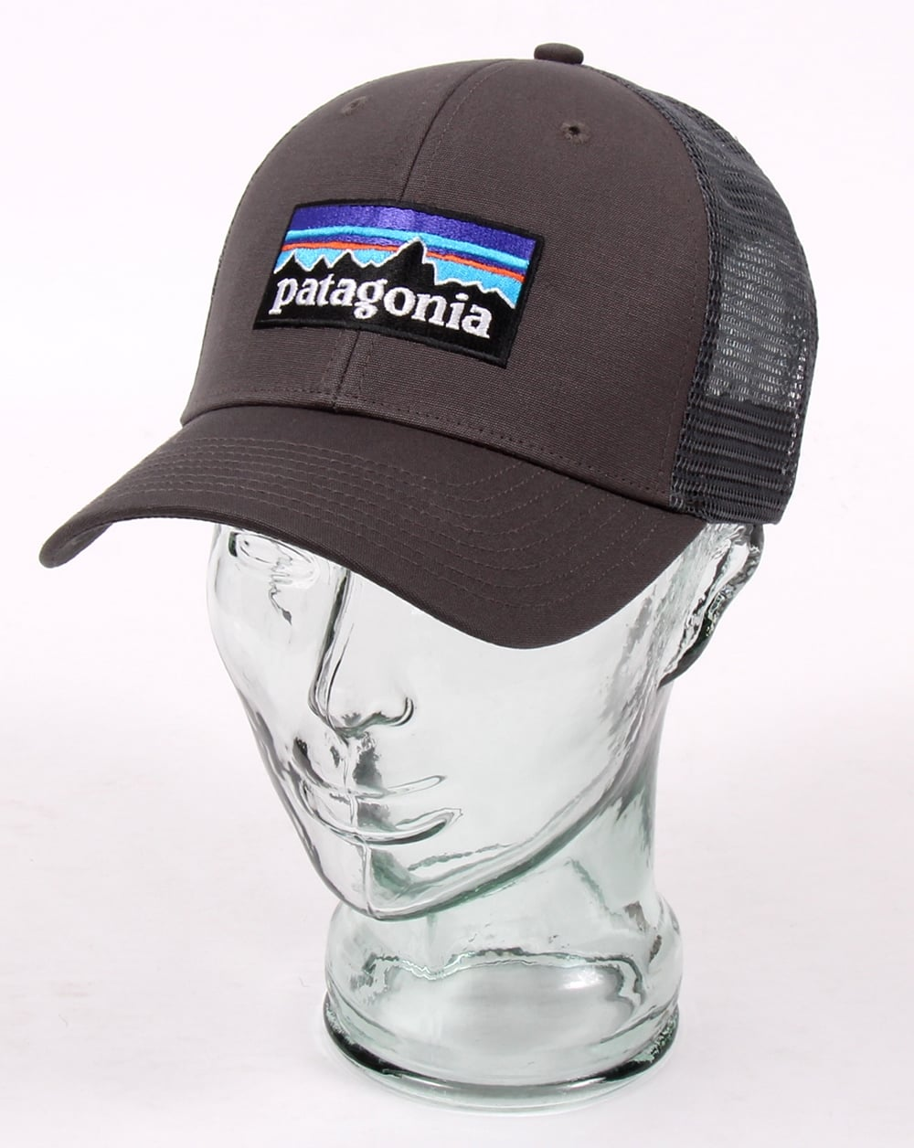 e662704b Patagonia P6 Trucker Cap Forge Grey - Hats And Caps from 80s Casual ...