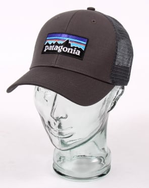 Patagonia P6 Trucker Cap Forge Grey