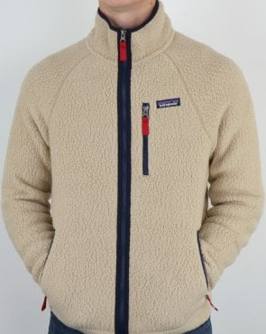 Patagonia Retro Pile Fleece in Light Stone