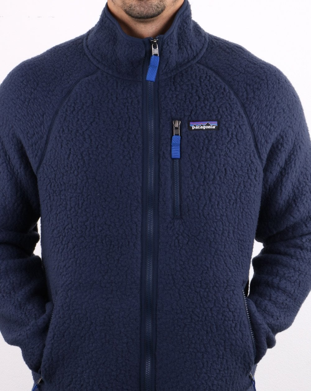 clearance prices buy good quality products Patagonia Retro Pile Jacket Navy | 80s Casual Classics