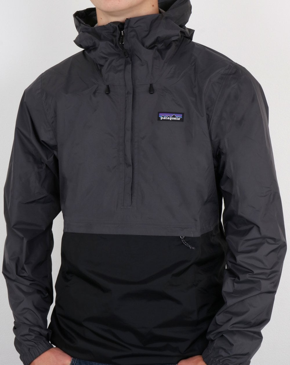 promotion world-wide renown top-rated original Patagonia Torrentshell Pullover Jacket Forge Grey