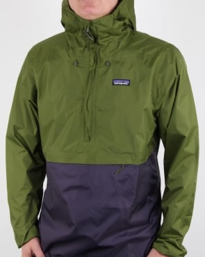 Patagonia Torrentshell Pullover Sprouted Green
