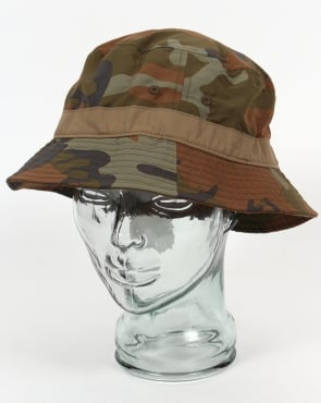 Patagonia Wavefarer Bucket Hat Forest Camo