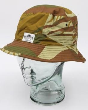 Penfield Baker Sun Hat Camo