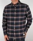 Penfield Barrhead Check Shirt Blue
