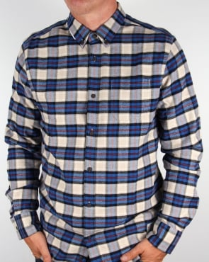 Penfield Crossfield Check Shirt Brown