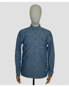 Penfield Helenby Selvedge Utility Shirt Blue