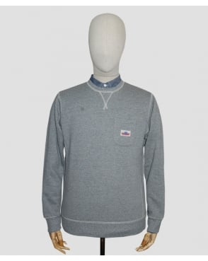 Penfield Hopedale Crew Neck Sweat Grey
