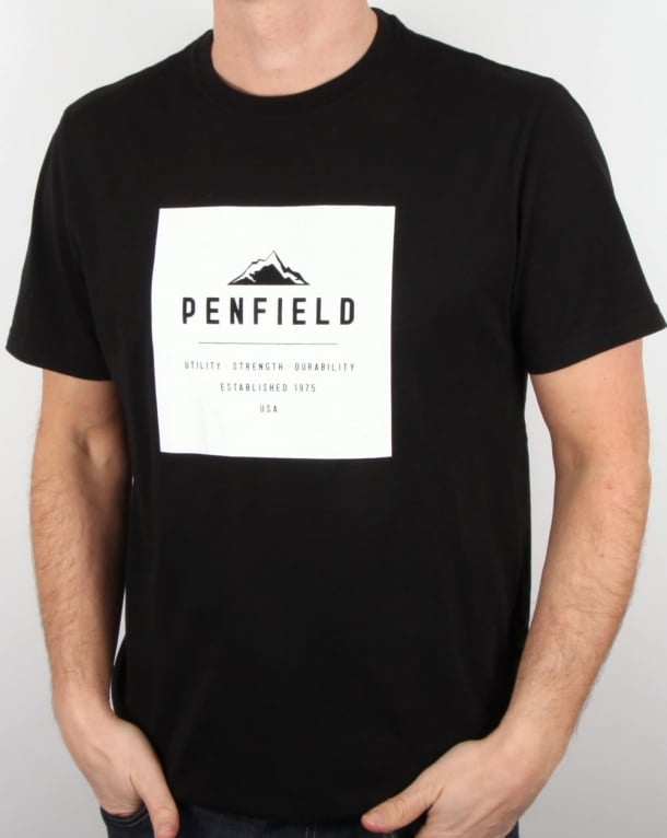 Penfield Kemp T Shirt Black