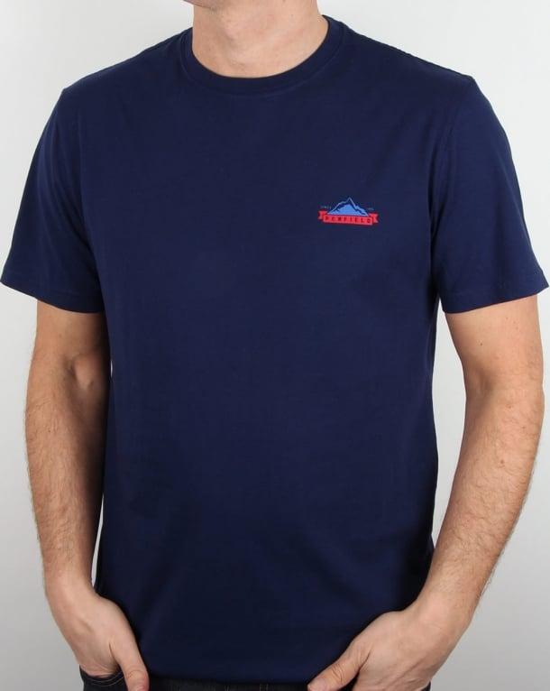 Penfield Logo T Shirt Blueprint