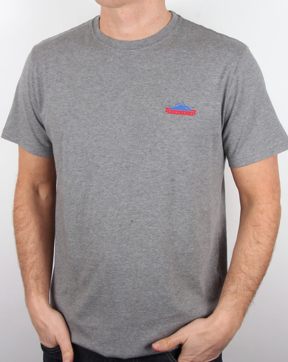 high quality entire collection fast color Penfield Logo T Shirt Grey