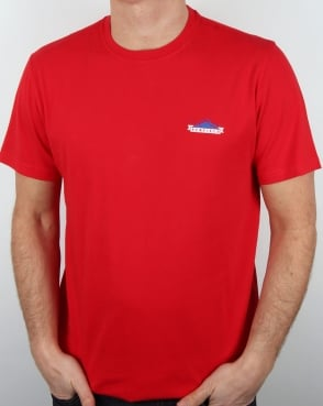 Penfield Logo T Shirt Red