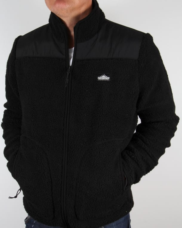 Penfield Mattawa Fleece Jacket Black