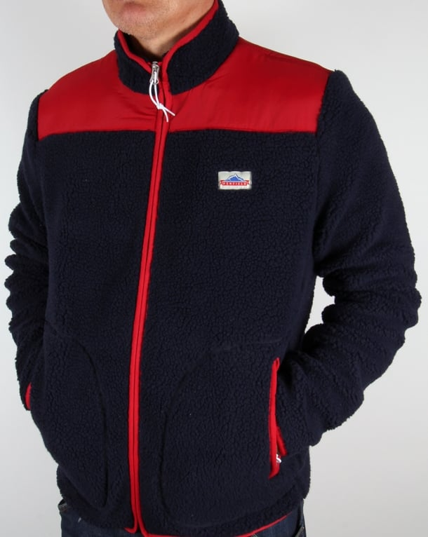 Penfield Mattawa Fleece Jacket Navy