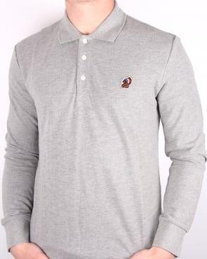 Penfield Mayuk Ls Polo Shirt Grey