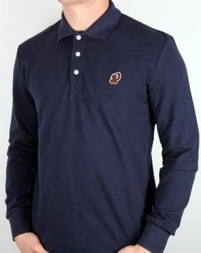 Penfield Mayuk Ls Polo Shirt Navy