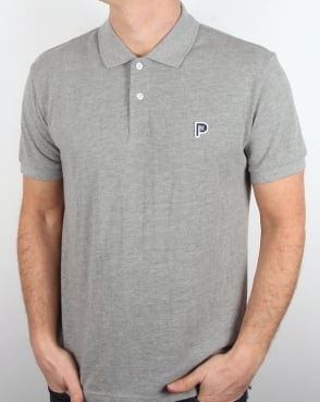 Penfield Norco Polo Shirt Grey