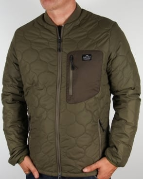 Penfield Oakdale Quilted Jacket Olive