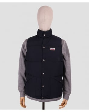 Penfield Outback Down Vest Jacket Navy