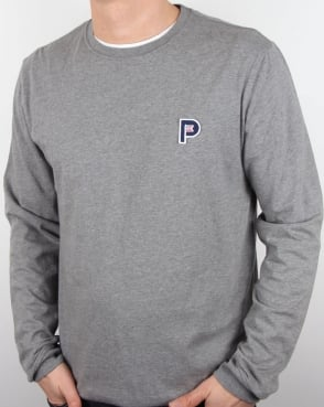 Penfield Plano Long Sleeve T Shirt Grey