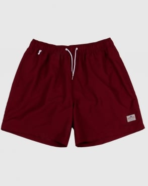 Penfield Seal Swim Shorts Cordovan