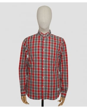 Penfield Wadcrest Check Shirt Red