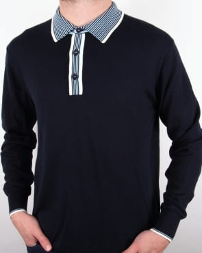 Peter Werth Johnny Boy Polo Shirt Navy