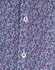 Peter Werth Porter Floral Shirt Blue