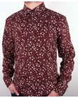 Peter Werth Rey L/s Shirt Burgundy