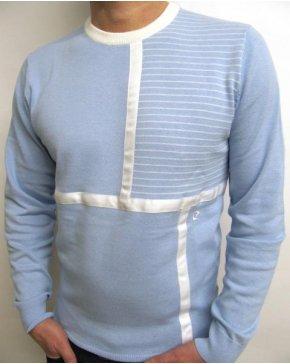 Pierre Cardin Vintage Pierre Cardin Heritage Crew Neck Knit Sky Blue