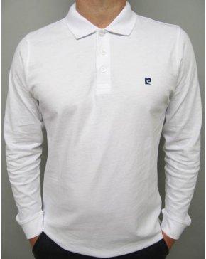 Pierre Cardin Vintage Pierre Cardin Heritage L/s Polo Shirt White
