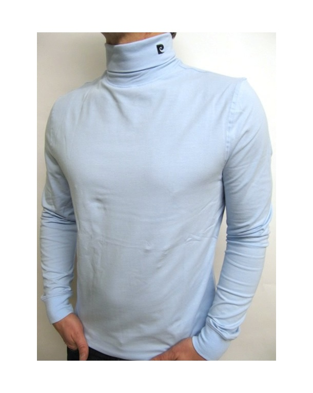 Pierre Cardin Heritage Roll Neck Sky Blue