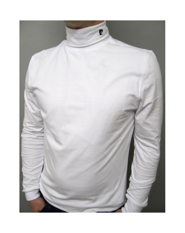 Pierre Cardin Heritage Roll Neck White