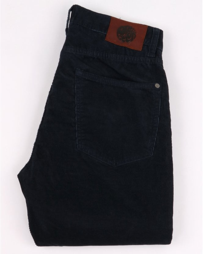 Pretty Green Alastair 5 Pocket Cords Navy