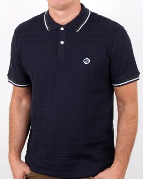 Pretty Green Arlow Polo Dark Navy