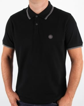 Pretty Green Barton Polo Shirt Black