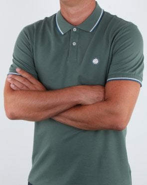 Pretty Green Barton Polo Shirt Green