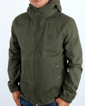 Pretty Green Beckford Festival Jacket Khaki