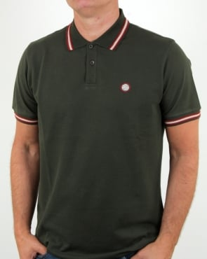 Pretty Green Bennett Polo Green