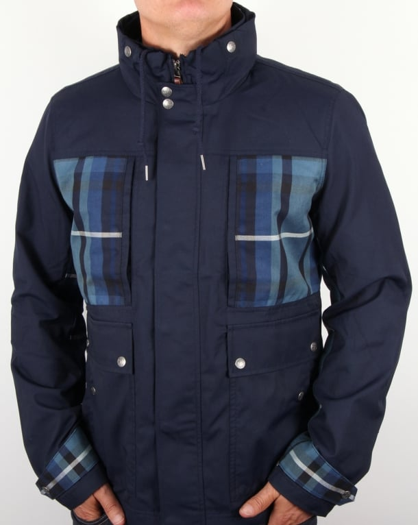 Pretty Green Blandford Jacket Navy