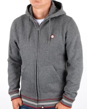 Pretty Green Bradstock Hoody Charcoal