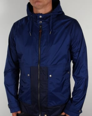 Pretty Green Brompton Hooded Jacket Navy