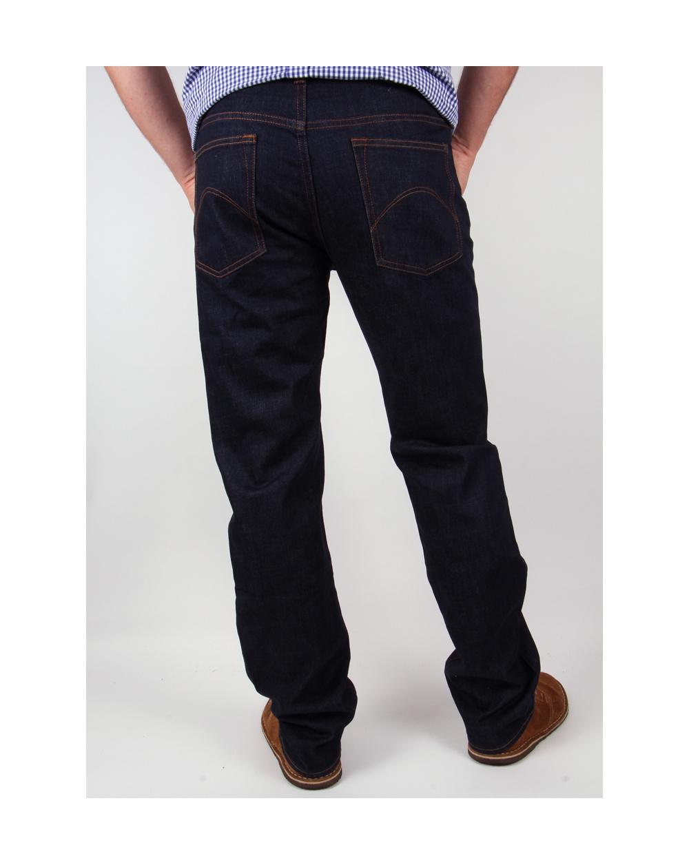 f5940854 Pretty Green Burnage Regular Straight Fit Jeans Rinse Wash - pretty ...