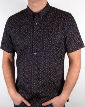 Pretty Green Byland Shirt Navy
