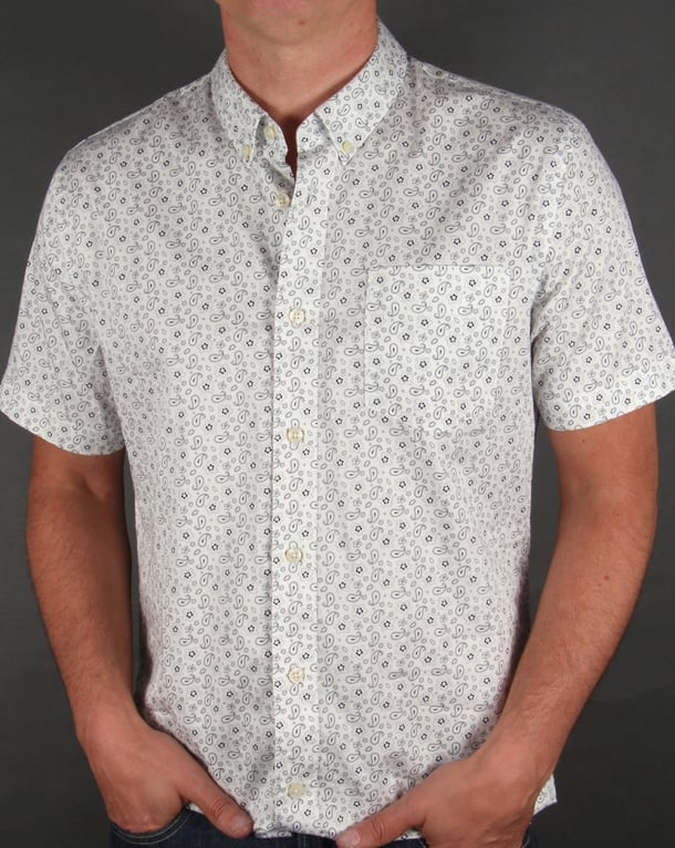 Pretty Green Byland Shirt White