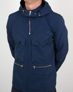 Pretty Green Capella Seam Sealed Jacket Navy