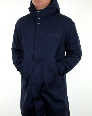 Pretty Green Cassidy Parka Navy